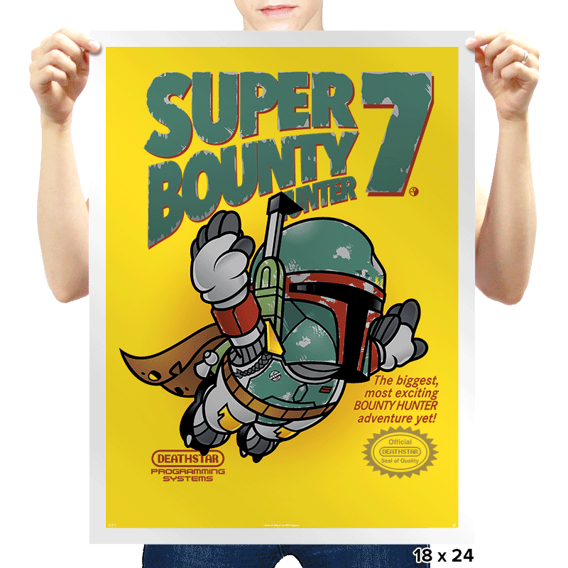 Super Bounty Hunter 7 - Prints - Posters - RIPT Apparel