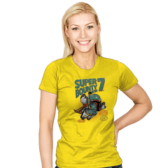 Super Bounty Hunter 7 - Womens - T-Shirts - RIPT Apparel