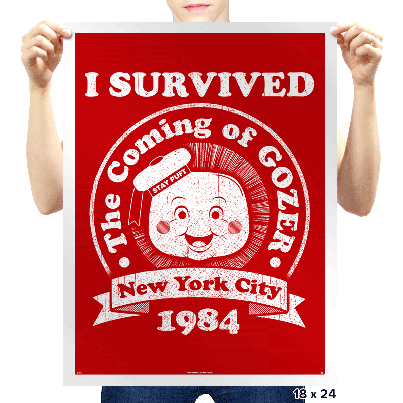 Surviving 1984 - Prints - Posters - RIPT Apparel