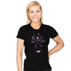 God of a New Arkham City - Womens - T-Shirts - RIPT Apparel