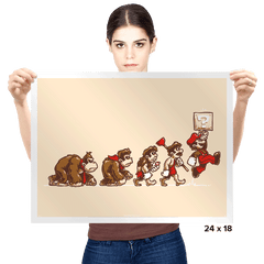 8-Bit Evolution - Prints - Posters - RIPT Apparel