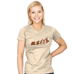 8-Bit Evolution - Womens - T-Shirts - RIPT Apparel