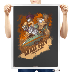 Mad Fry - Prints - Posters - RIPT Apparel