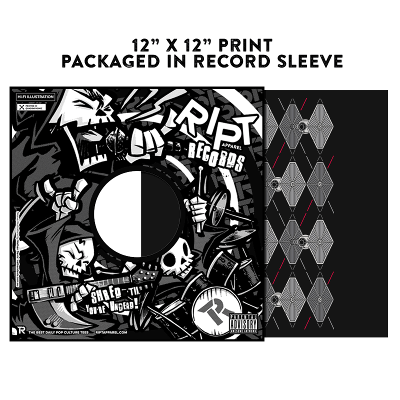Argyle Fighters - Album Cover Prints - Posters - RIPT Apparel