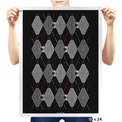 Argyle Fighters - Prints - Posters - RIPT Apparel