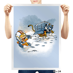 Attack of the Deranged Killer Snow Walkers - Prints - Posters - RIPT Apparel