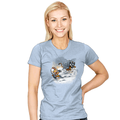 Attack of the Deranged Killer Snow Walkers - Womens - T-Shirts - RIPT Apparel