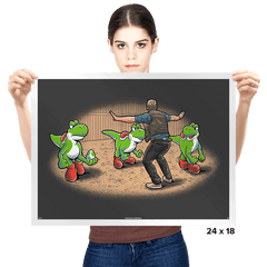 Yoshi World - Prints - Posters - RIPT Apparel