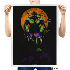 Big Bad Mutant Ninja - Prints - Posters - RIPT Apparel