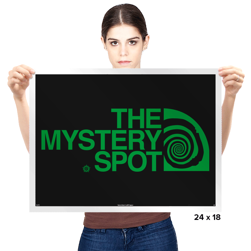 The Mystery Spot Shirt - Prints - Posters - RIPT Apparel