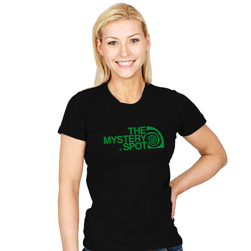 The Mystery Spot Shirt - Womens - T-Shirts - RIPT Apparel