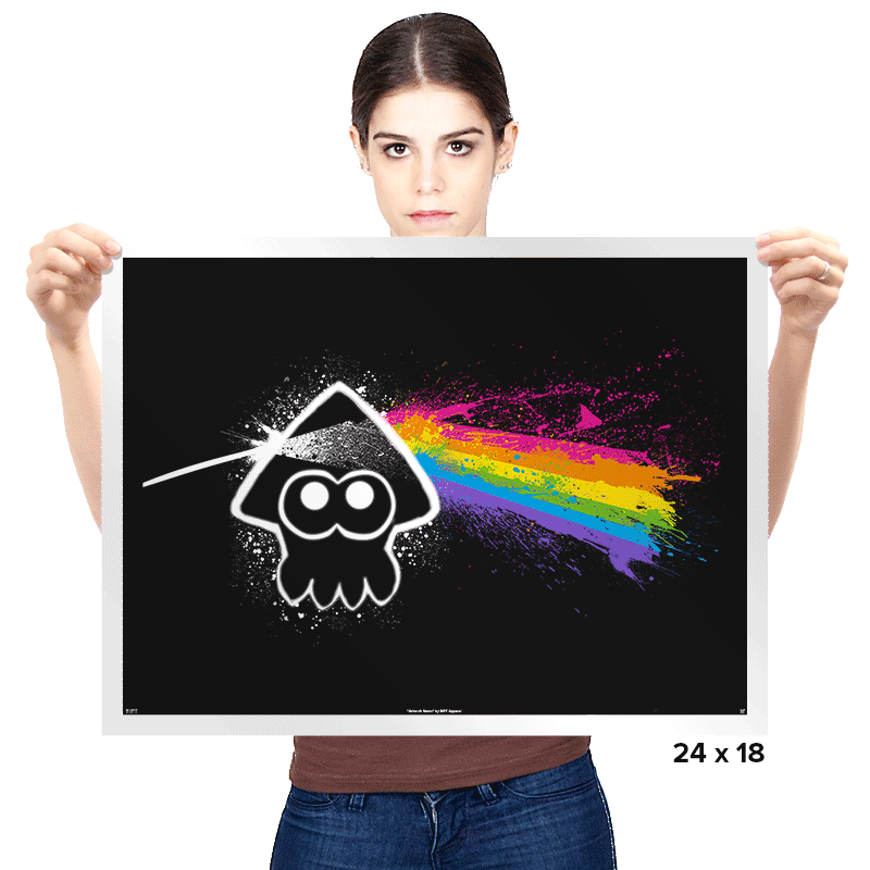 Dark Side of the Splatoon - Prints - Posters - RIPT Apparel