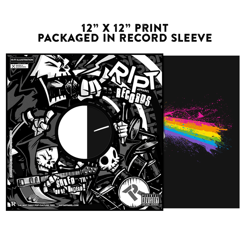 Dark Side of the Splatoon - Album Cover Prints - Posters - RIPT Apparel