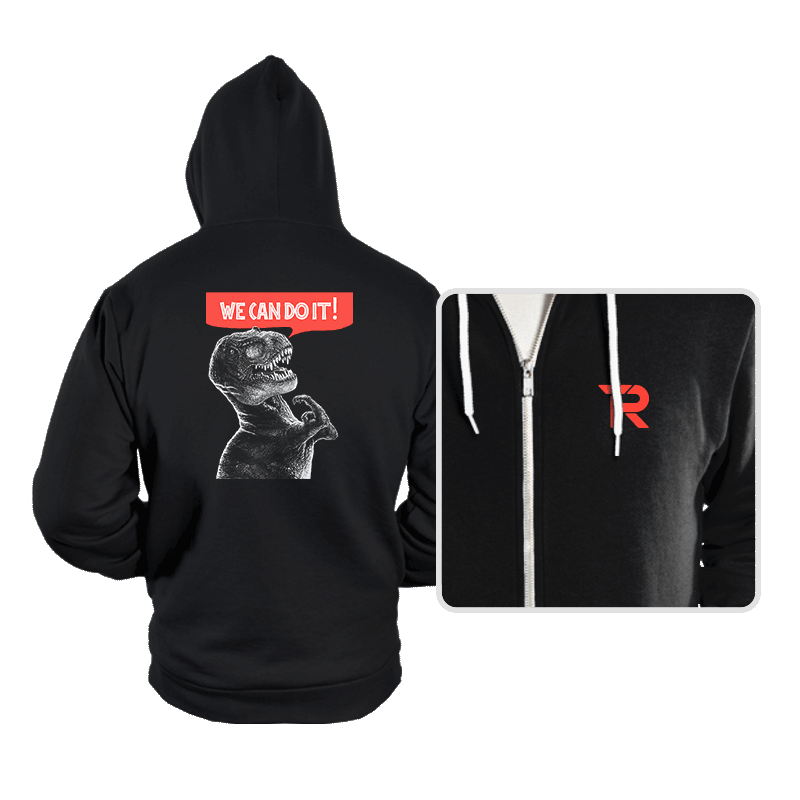 Rexy Can Do It! - Hoodies - Hoodies - RIPT Apparel