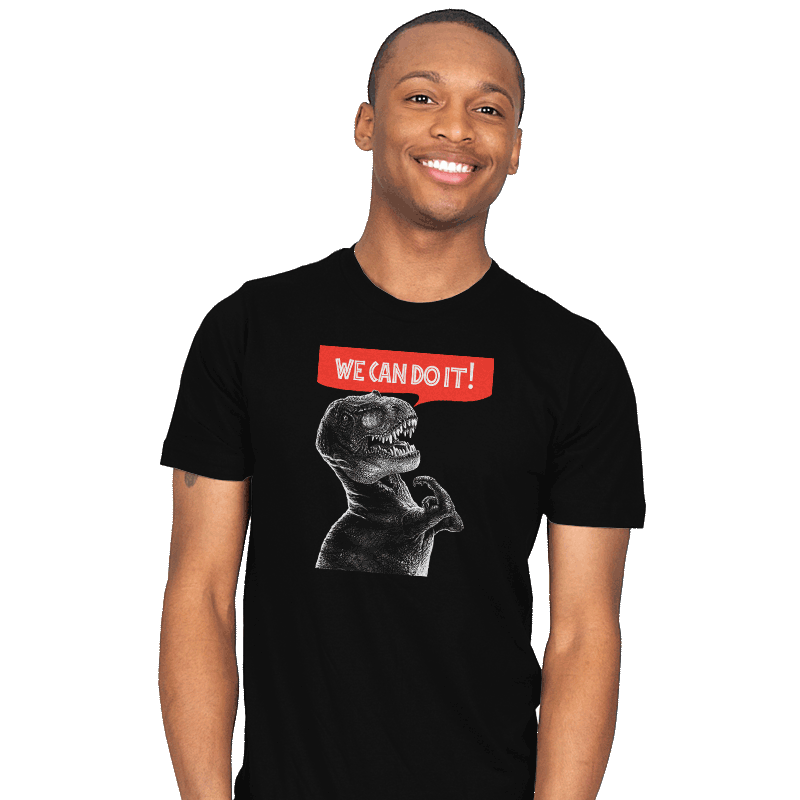 Rexy Can Do It! - Mens - T-Shirts - RIPT Apparel