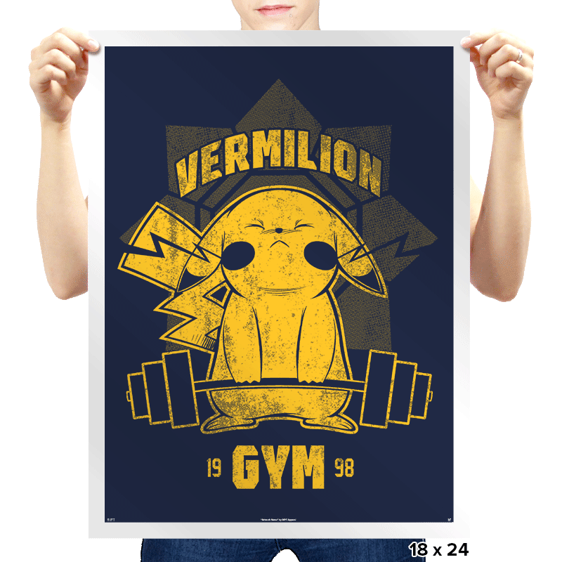 Vermilion Gym - Prints - Posters - RIPT Apparel