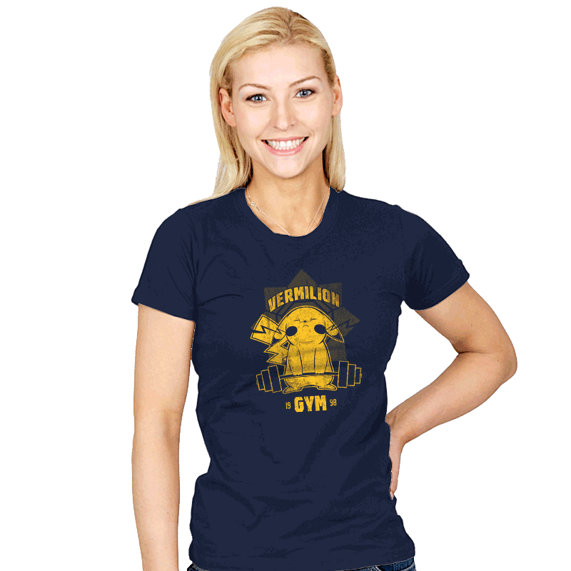 Vermilion Gym - Womens - T-Shirts - RIPT Apparel