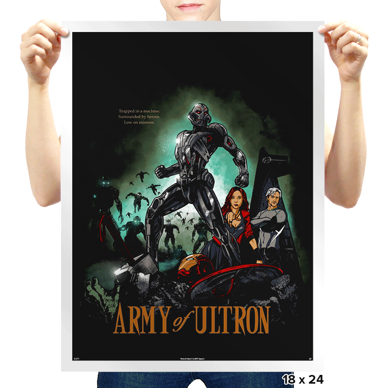 Army of Robots Exclusive - Prints - Posters - RIPT Apparel