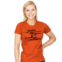 GUNS Don't Kill Exclusive - Womens - T-Shirts - RIPT Apparel