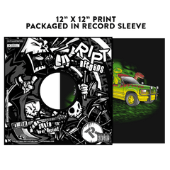 Velociraptors today - Album Cover Prints - Posters - RIPT Apparel