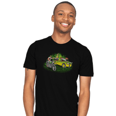 Velociraptors today - Mens - T-Shirts - RIPT Apparel