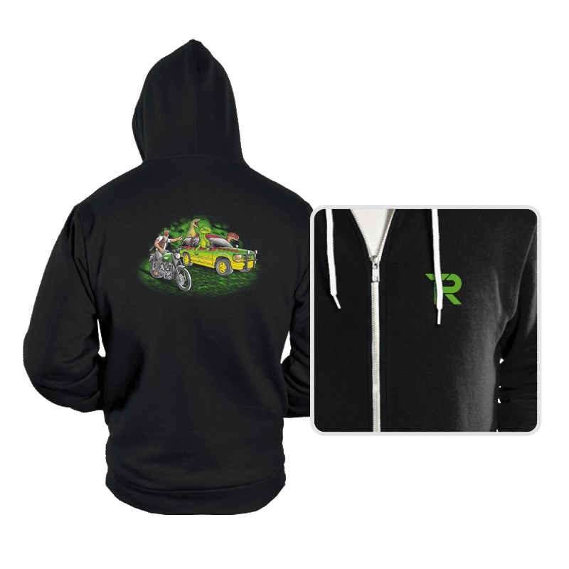 Velociraptors today - Hoodies - Hoodies - RIPT Apparel