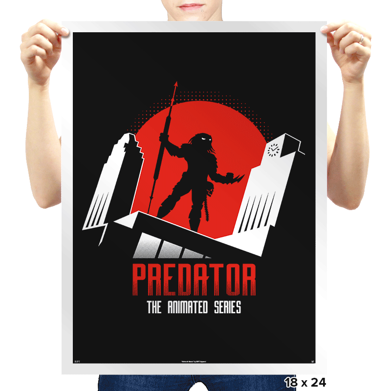 Predator: The Animated Series - Prints - Posters - RIPT Apparel