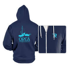 Orca Fishing Charter - Hoodies - Hoodies - RIPT Apparel