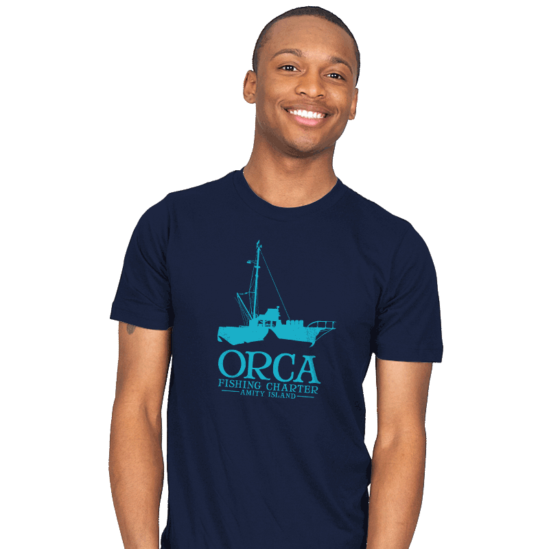 Orca Fishing Charter - Mens - T-Shirts - RIPT Apparel