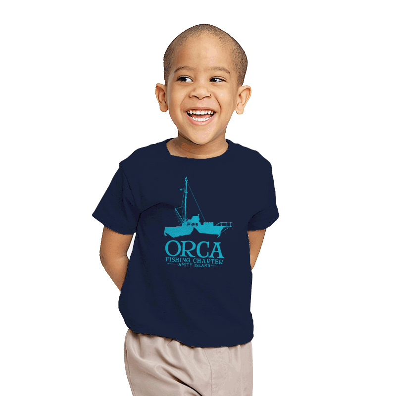 Orca Fishing Charter - Youth - T-Shirts - RIPT Apparel