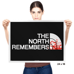 The North Remembers - Prints - Posters - RIPT Apparel