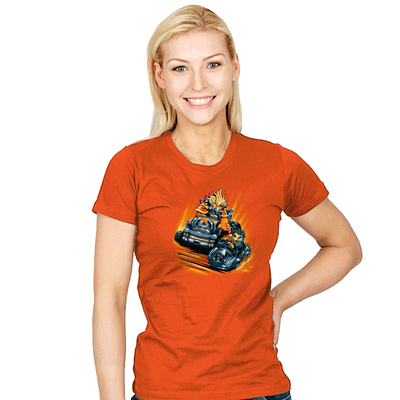 Mad Mario: Rainbow Road - Womens - T-Shirts - RIPT Apparel