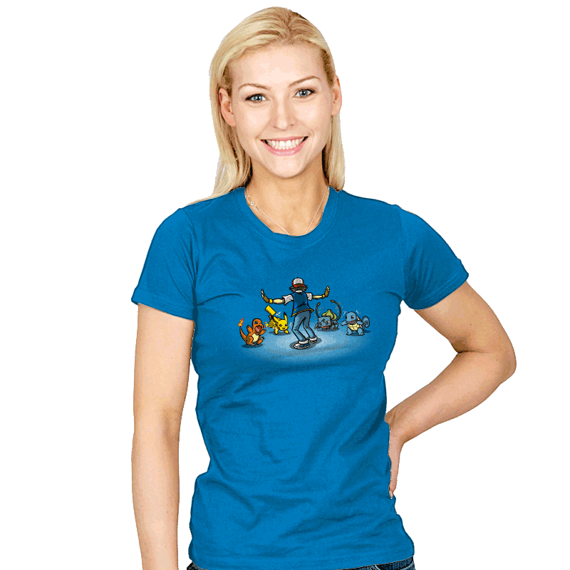 Gotta Train Em All! - Womens - T-Shirts - RIPT Apparel