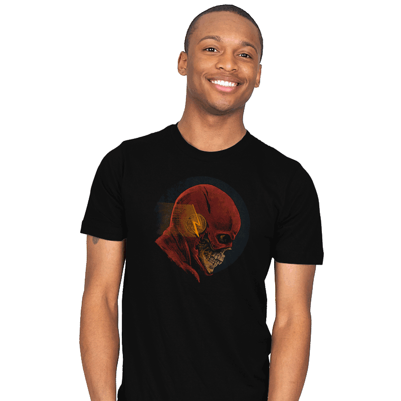 Speeding Skull - Mens - T-Shirts - RIPT Apparel