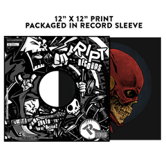 Speeding Skull - Album Cover Prints - Posters - RIPT Apparel