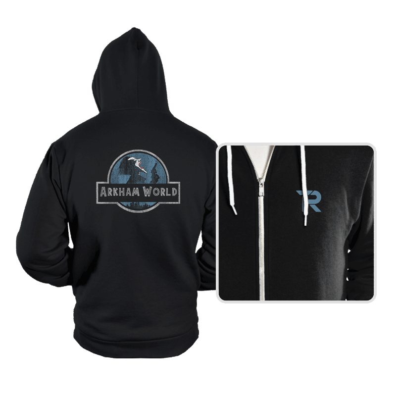 Arkham World - Hoodies - Hoodies - RIPT Apparel