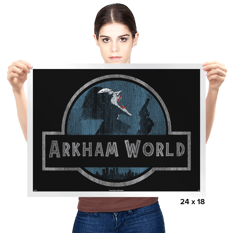Arkham World - Prints - Posters - RIPT Apparel