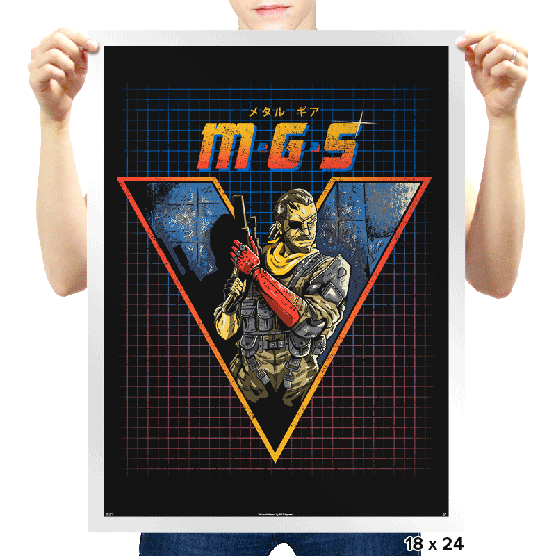 MGS V - Prints - Posters - RIPT Apparel