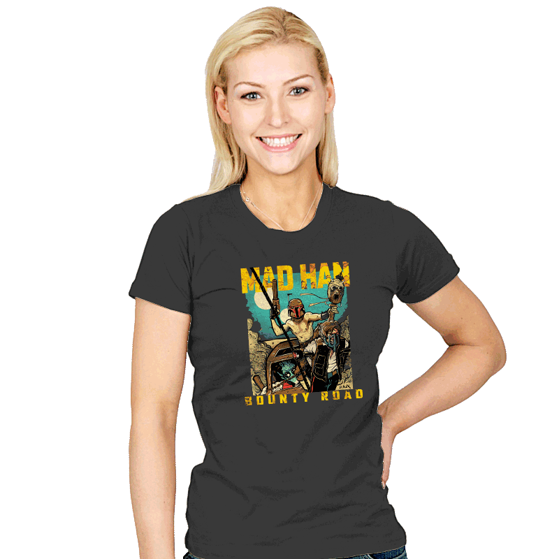 Mad Han: Bounty Road - Womens - T-Shirts - RIPT Apparel