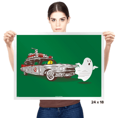 Hunting of Ghost - Prints - Posters - RIPT Apparel