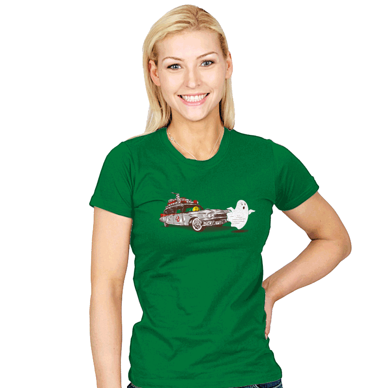 Hunting of Ghost - Womens - T-Shirts - RIPT Apparel