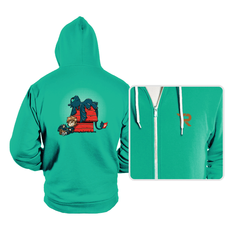 Dragon Peanuts - Hoodies - Hoodies - RIPT Apparel