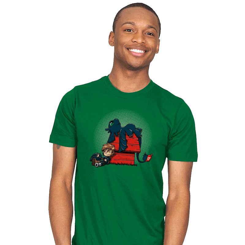 Dragon Peanuts - Mens - T-Shirts - RIPT Apparel