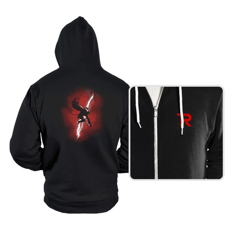 Demon Returns - Hoodies - Hoodies - RIPT Apparel