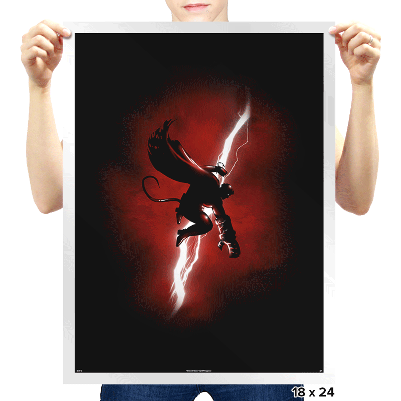 Demon Returns - Prints - Posters - RIPT Apparel