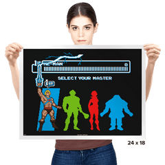Select Your Master - Prints - Posters - RIPT Apparel