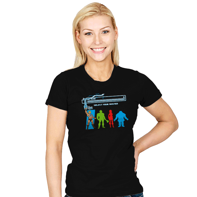Select Your Master - Womens - T-Shirts - RIPT Apparel
