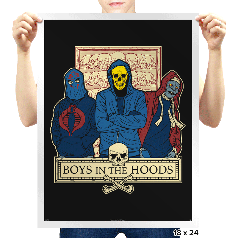 Boys in the Hoods - Prints - Posters - RIPT Apparel