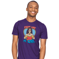 Fight Like A Woman - Mens - T-Shirts - RIPT Apparel