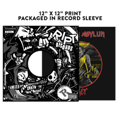 Arkham Asylum - Album Cover Prints - Posters - RIPT Apparel